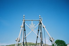 Bridge (bigalid) Tags: film 35mm yashica mf2 super may 2019 lomography100cn c41 langholm bridge