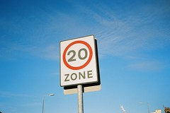 20 Zone (bigalid) Tags: film 35mm yashica mf2 super may 2019 lomography100cn c41 dumfries sign 20