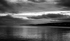 2019_218 (Chilanga Cement) Tags: fuji fujix100f fujifilm fujix xseries x100f 100f bw blackandwhite monochrome seascape coast scotland water clouds cloud reflection reflections