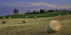 Farm Life Tuscany (Lee Sie) Tags: italy tuscany toscana europe farmhouse hay fields cypress valdorcia fineartphototreks