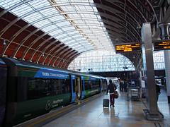 Paddington Station (Steve only) Tags: england station pen lumix g olympus snap panasonic asph f4 7144 vario m43 ep5 14714 714mm paddington london peopleinthecity railway