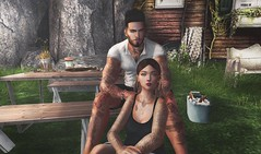 [ 📷 - 20 ] (insociable.sl) Tags: camping edit nature food break picnic summer tattoo girlfriend bae love couple sl secondlife