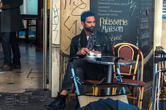 Morning Espresso (shapeshift) Tags: cafe candid candidphotography chairs cigarettes city coffee davidpham davidphamsf documentary espresso europe france man montmartre paris patisserie people shapeshift shapeshiftphoto sidewalk street streetphotography tables travel îledefrance