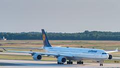 D-AIHV (gankp) Tags: washingtondullesinternationalairport dulles iad arrivals daihv lufthansa airbus a340642 munich