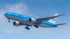 PH-BQL (gankp) Tags: washingtondullesinternationalairport dulles iad arrivals phbql klm amsterdam 100thanniversary