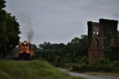 PICK (ryanstuart1) Tags: pickens railroad railway shortline rr sc south carolina anderson ge general electric u18b locomotive mill freight train