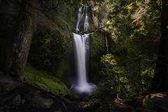 Framed (Longleaf.Photography) Tags: fallscreekfalls wa washington gifford pinchot nf waterfall fall river stream creek moss tiers levels cove