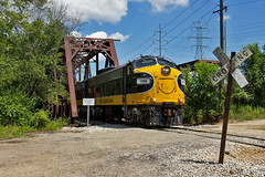 Kickapoo Creek (Trainboy03) Tags: keokuk junction kjry pioneer railcorp prex 1750 bartonville illinois il