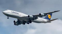 D-ABYG (gankp) Tags: washingtondullesinternationalairport dulles iad arrivals dabyg boeing747830 lufthansa queenofskies