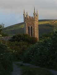 Church of Ireland Kilgobbin (Circled Thrice) Tags: church churchofireland kilgobbin camp countykerry dinglepeninsula dingle path spire ireland irish canon eos rebel t3i sigma