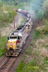 EL 2564                         6-1975 (C E Turley) Tags: trains railroads railways el gp35 erielackawanna ne97
