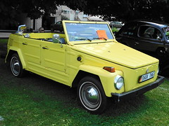 1973 Volkswagen Thing (splattergraphics) Tags: 1973 volkswagen thing vw carshow maaco hanoverpa