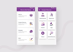 Caregiver Apps Design (mashok3) Tags: android app design appointment care caregiver clean concept full apps health illustration inspiration minimal podcast trend typography ui