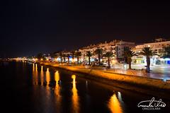 Lagos at Night (Theo Crazzolara) Tags: lagos algarve portugal night city vacation holidays tourism lights longexposure europe romantic summer promenade town water