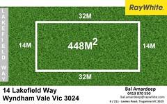 14 Lakefield Way, Wyndham Vale VIC