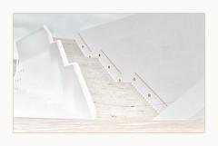 stairs & facade (christikren) Tags: architecture abstract architektur building christikren facade highkey lines art architectsantiagocalatrava teneriffa santacruzdetenerife spain auditorio structures