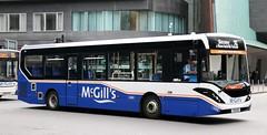 McGill's Bus Service, Greenock 4110 YX19OSZ crosses Argyle Street in Glasgow with a 26 service. (Gobbiner) Tags: e200mmc mcgillsbusservice yx19osz adl glasgow enviro 4110 greenock