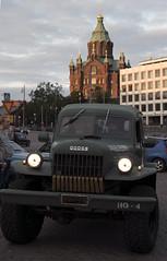 1_4 (www.ilkkajukarainen.fi) Tags: suomi finland finlande eu europa scandinavoia happy life line travel travelling visit uspenskin katedraali cathedral alvar design kauppatori salutorget market square aalto helsinki cruising night yö dodge jeeppi jep jeep