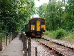 150248 Coombe Junction Halt (1) (Marky7890) Tags: gwr 150248 class150 sprinter 2l85 coombejunctionhalt railway cornwall looevalleyline train