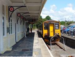 150248 Liskeard (1) (Marky7890) Tags: gwr 150248 class150 sprinter 2l83 liskeard railway cornwall cornishmainline train