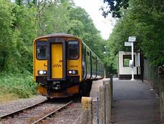 150248 Coombe Junction Halt (3) (Marky7890) Tags: gwr 150248 class150 sprinter 2l85 coombejunctionhalt railway cornwall looevalleyline train