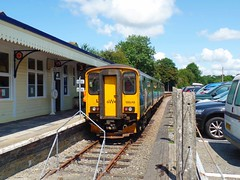 150248 Liskeard (2) (Marky7890) Tags: gwr 150248 class150 sprinter 2l83 liskeard railway cornwall cornishmainline train