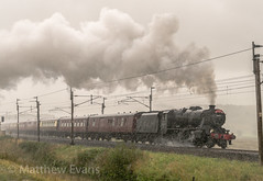 Torrential slog (MJREphotography) Tags: 48151 8f lms wcrc shap sc settle and carlisle br british railways scout green birkett common dalesman gauge o guild steam locomotive train west coast railway company chester