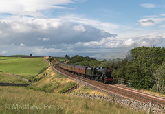 Amazing conditions (MJREphotography) Tags: 48151 8f lms wcrc shap sc settle and carlisle br british railways scout green birkett common dalesman gauge o guild steam locomotive train west coast railway company chester