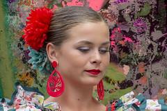 Les yeux baissés (Xtian du Gard) Tags: xtiandugard nîmes portrait elrocio femme andalouse