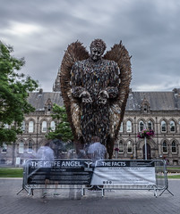 The Knife Angel Middlesbrough-1 (Simon McCabe) Tags: alfiebradley blade crime alfie'sart sculpture britishironworks simonmccabe knife angel 10000 blades art middlesbrough uk amaving