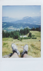 hiking (Holiday Film Project) Tags: urlaub holiday fuji instax austria österreich travel