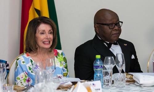 Nancy Pelosi in Ghana by U.S. Embassy Ghana, on Flickr