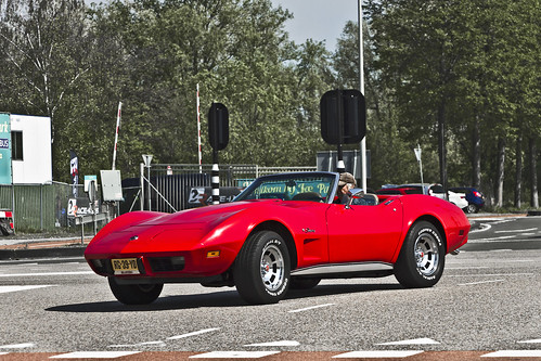 Chevrolet Corvette C3 Stingray Convertible 1975 (0327)