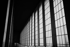 Tempelhof Airport (Jontsu) Tags: tempelhof airport windows high contrast bw black white fuji fujifilm xt3 23mm fujinon23mmf2 fujinon23mm berlin deutschland germany