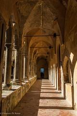 Convento di San Francesco Sorrento 2.)1904-4167 (dironzafrancesco) Tags: tamronsp2470mmf28diusd slta99v sorrento sony reise tamron travel old sorrent provinzneapel italien architecture corridor