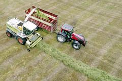 Harvesting, County Limerick Ireland (Sean Hartwell Photography) Tags: drone dji phantom4 agriculture agricultural farm farming newcastlewest limerick countylimerick ireland