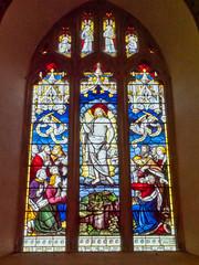 P1034493 (crapatdarts) Tags: crapatdarts dorset stmaryschurch winterbornewhitechurch church stainedglasswindow