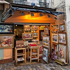 Montmartre Art (Alan Amati) Tags: amati alanamati eu europe paris france french art painting paintings artist gallery store montmartre studio street storefront neigaborhood artwork colony picturesque quaint