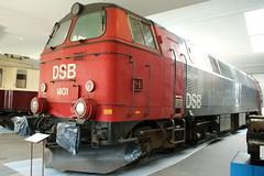 DSB: MZ 1401 in Odense (Helgoland01) Tags: dänemark denmark danmark eisenbahn railway diesellok dsb museum emd nohab danmarksjernbanemuseum