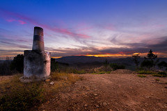 Clouds Spoilt The Sunset (www.craigrogers.photography) Tags: sunset trig trigpoint hills mountains algarve serra picota pordosol portugal sky skies colours
