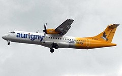 (Riik@mctr) Tags: manchester airport egcc glere ringway airfield runway aurigny air services atr 4272 msn 891 ppptu