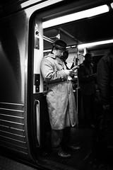 Philadelphia Subway (Michael Penn Photography) Tags: second philadelphia philly subway septa noir dark contrast street photography bw black white gritty