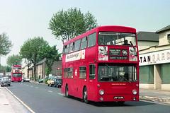 DMS329 - JGF 329K (Solenteer) Tags: londontransport dms329 jgf329k daimler fleetline parkroyal bexleyheath