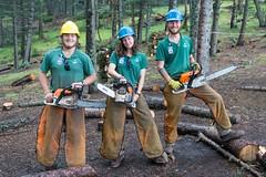 Conservation Team @ Apache Springs Camp-05416 (gsegelken) Tags: usa newmexico groupphoto philmont bsa cimarron philmontstaffassociation boyscoutsofamerica conservationists apachesprings philmongscoutranch chainsaw