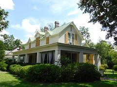 The Abraham House (jimmywayne) Tags: barbourcounty alabama eufaula historic antebellum abraham house log nrhp nationalregister