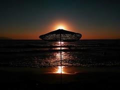 Paradise Sunset (Bkutlak H.D) Tags: kusadasi aydin turkey turkish travel sky sea sun sunset silhouette shadow shadows skie sweet landscape light long loneliness