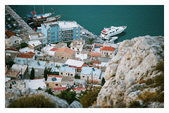 0068-0302-22 (jimbonzo079) Tags: pothia city above town dock ship boat yaght house building agios savvas monastery hill kalymnos κάλυμνοσ island dodecanese 2018 land landscape aegean greece mountain canon ae1 fd 135mm f25 lens kodak portra 160 expired trip travel world europe analog film 35mm 135 color art view vintage old hellas ελλάσ ελλάδα summer vacation portra160 newportra160 kodakportra160 newkodakportra160 canonae1 fd135mmf25