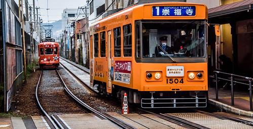 2019 - Japan - Nagasaki - Tram Tracks
