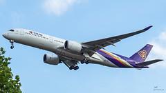 HS-THF Thai Airways International Airbus A350-941 (airliners.sk, o.z.) Tags: airport frankfurt eddf fra fraeddf airplane airbus a350 a350941 airline thai airlines airlinerssk