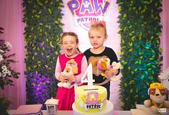 4º aninho da Cecília-159 (fotosdagreice) Tags: cenário festa aniversário menina criança aninho família bebê decoração rosa paw patrol patrulha canina diversão sorriso felicidade